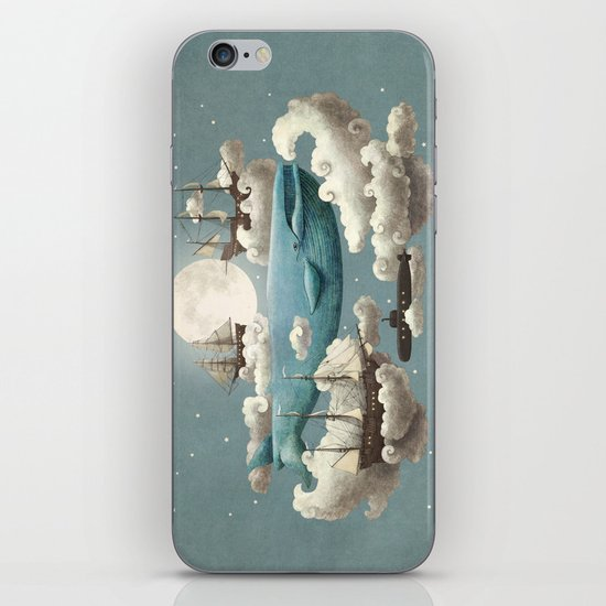 Ocean Meets Sky - colour option iPhone & iPod Skin