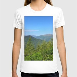 Mountain and trees T-shirt