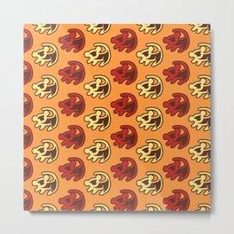 The Lion King - #5 Simba Art Metal Print