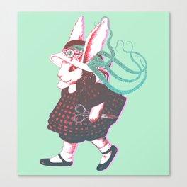 Creepy Bunn Canvas Print