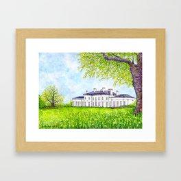 Hylands House, Chelmsford Framed Art Print