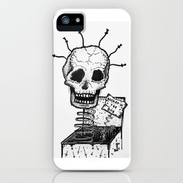 Hacked in the Box iPhone Case