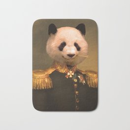 Panda Bear General | Cute Kawaii Bath Mat