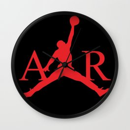 Jordan Air NBA Basketball Wall Clock