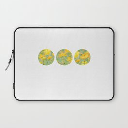 Small yellow flower Laptop Sleeve