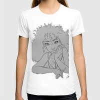 artsy T-shirts featuring Artsy Girl by radaaban
