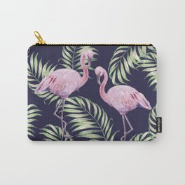 Flamingos #society6 Carry-All Pouch