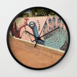 Rimini Old Town, Italy Wall Clock