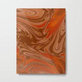 Neutrals Abstract Metal Print