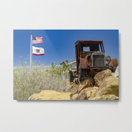 California Republic Metal Print