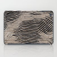 calligraphy iPad Cases featuring it's waving calligraphy by Anna Grunduls