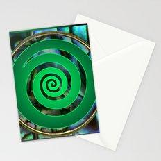 Paua Koru 1 Stationery Cards