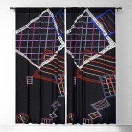 Wassily Kandinsky Climbing Grids Blackout Curtain