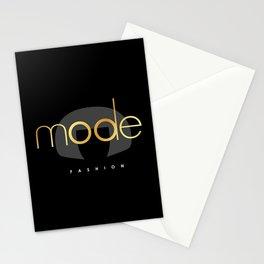 Edna Mode Fashion Dark Gold Stationery Cards