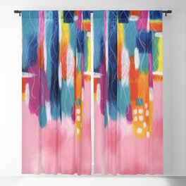 free floating Blackout Curtain