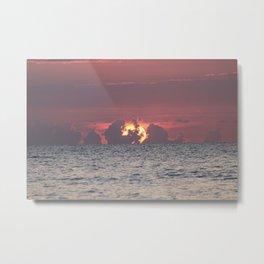 Fort Lauderdale Sun Rise Metal Print