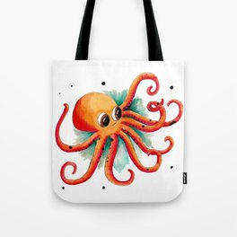 Olly the Octopus Tote Bag