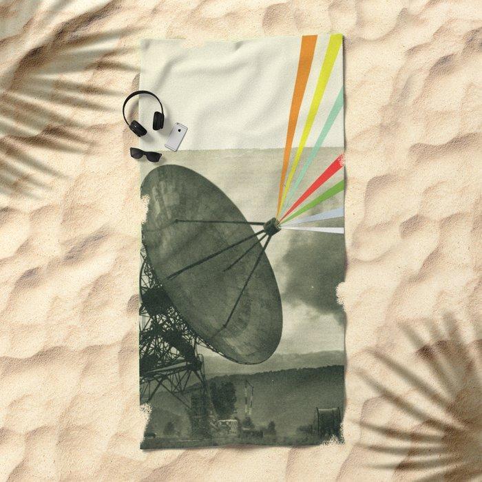 Earth Calling Beach Towel