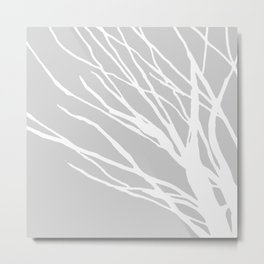Gray Blues Metal Print