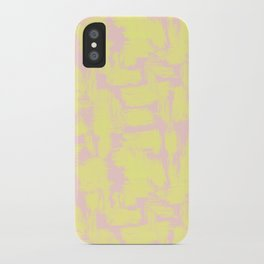 pink yellow iPhone Case