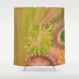 Murdering Nature Flowers  ID:16165-102100-72860 Shower Curtain