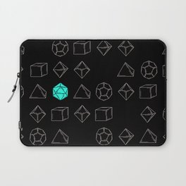 Dungeons and Dragons Dice Laptop Sleeve