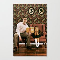 Single Dad. Canvas Print