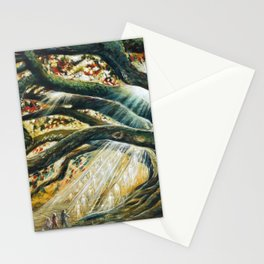Earth & heaven meeting  Stationery Cards