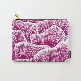 Mushroom Bouquet - Magenta Carry-All Pouch