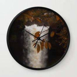 I am a waterfall Wall Clock
