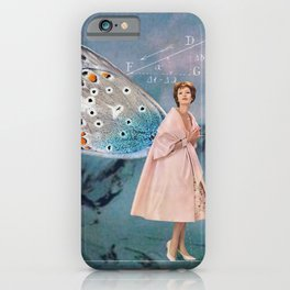Becoming (A Butterfly) iPhone Case