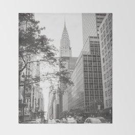 The Chrysler Building New York City Throw Blanket