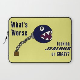 Hold Up Chain Chomp Laptop Sleeve