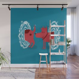 Atomic Dog Wall Mural