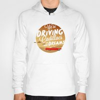 lorde Hoodies featuring We're Driving Cadillacs In Our Dreams - Lorde: Royals  by Four & Thirty
