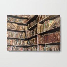 Moldy Books Metal Print