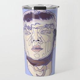 Violet geometry ver. I Travel Mug