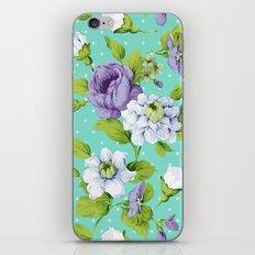 Hopeless Romantic - aqua version iPhone & iPod Skin