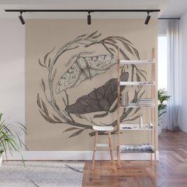 Peppered Moths Wall Mural
