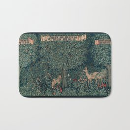 William Morris Greenery Tapestry Bath Mat