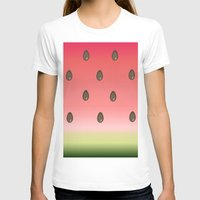 watermelon T-shirts featuring Watermelon by Julia Badeeva