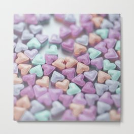 Hearty Love Metal Print