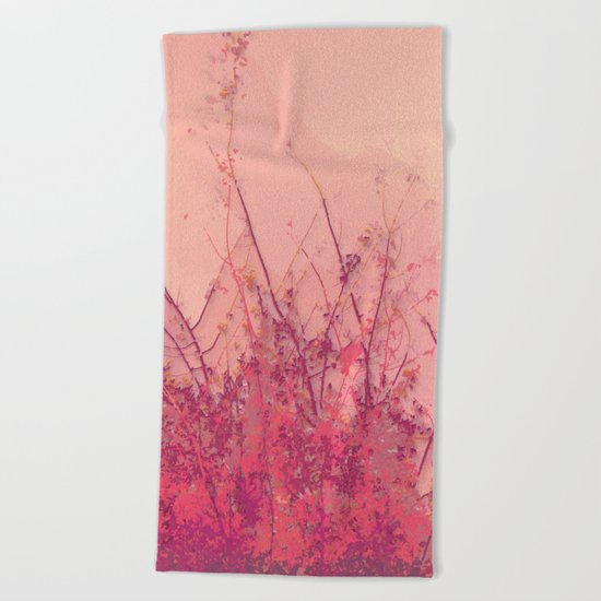 Lost in Pink Beach Towel