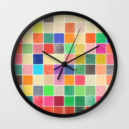 colorquilt 2 Wall Clock