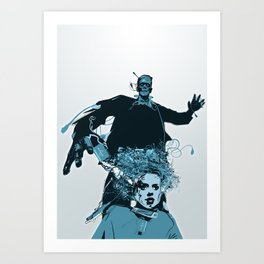 The Frank Connection Art Print