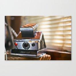 Polaroid SX70 Canvas Print