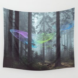 Whale Music in the Forest Wall Tapestry