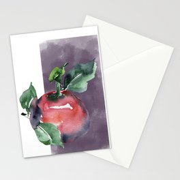 Apple print Stationery Cards