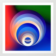 Colors and Emotions 2 Art Print