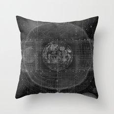 Tabula Selenographica Throw Pillow